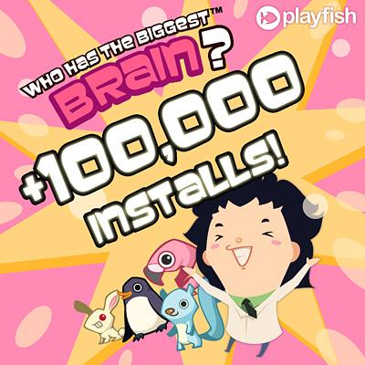 100k installs