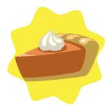 Mmm, pumpkin pie!