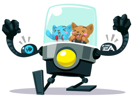 playfish and ea together